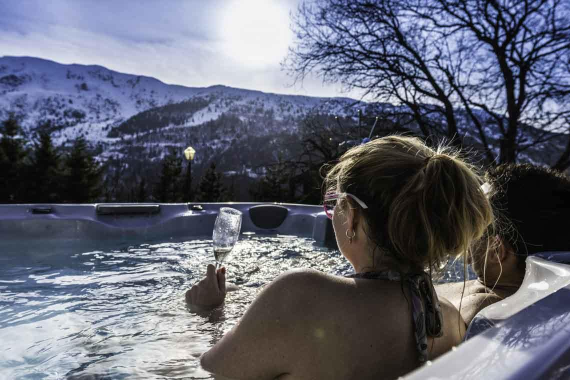 Chalet Dame Blanche Hot Tub